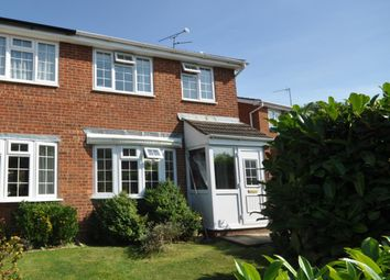 Thumbnail 3 bed semi-detached house to rent in Badgers Way, Buckingham