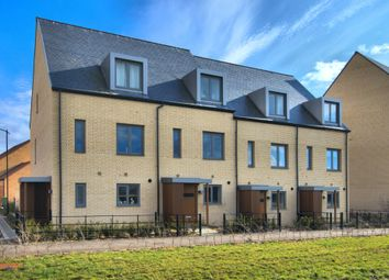 Thumbnail 3 bed town house for sale in Otter Close, Trumpington, Cambridge