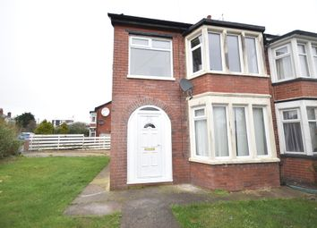 Thumbnail 3 bed semi-detached house to rent in Ramsey Avenue, Blackpool