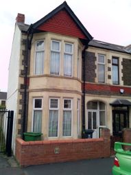 Thumbnail 4 bed end terrace house to rent in Hafod Street, Cardiff