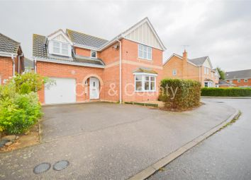Thumbnail 4 bedroom detached house to rent in Alvis Drive, Yaxley, Peterborough