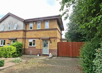 Thumbnail 2 bedroom end terrace house to rent in Mayer Gardens, Shenley Lodge, Shenley Lodge Milton Keynes