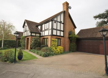 Thumbnail 4 bed detached house for sale in Newton Court, Old Windsor, Berkshire