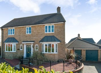 Thumbnail 4 bed detached house for sale in Fieldfare Close, Stowmarket