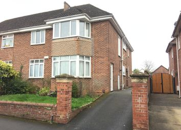 Thumbnail 3 bed flat to rent in Marlborough Road, Exeter
