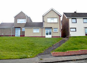 Thumbnail 2 bed semi-detached house for sale in Dan-Y-Cribyn, Ynysybwl, Pontypridd