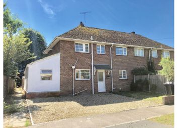 Thumbnail 3 bed semi-detached house for sale in Great Harlings, Shotley