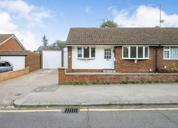 Thumbnail 2 bed semi-detached bungalow to rent in Stanton Road, Luton