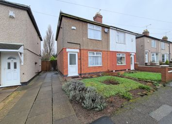 Thumbnail 2 bed semi-detached house for sale in Newhall Road, Henley Green, Coventry
