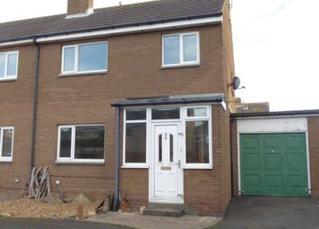 Thumbnail 3 bedroom semi-detached house for sale in Fontburn, Amble, Morpeth