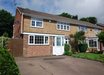 Thumbnail 4 bed semi-detached house to rent in Greenacres, Crawley