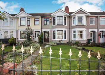 Thumbnail 3 bed terraced house for sale in Addison Road, Coventry, West Midlands
