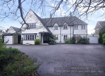 Thumbnail 4 bed detached house for sale in Dove House Lane, Solihull