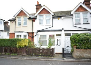 Thumbnail 2 bed terraced house for sale in Woodcote Side, Woodcote, Epsom