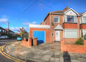 Thumbnail 3 bedroom semi-detached house to rent in Avondale Avenue, Forest Hall, Newcastle Upon Tyne