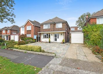 Thumbnail 3 bed detached house for sale in Aragon Avenue, Ewell, Epsom