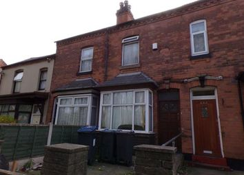 Thumbnail 2 bed terraced house for sale in Slade Road, Erdington, Birmingham, West Midlands
