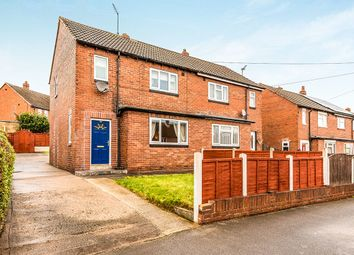 Thumbnail 2 bedroom semi-detached house for sale in Manor Crescent, Rothwell, Leeds