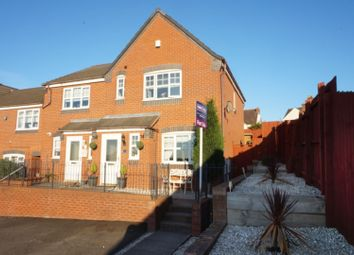 Thumbnail 3 bed end terrace house for sale in Peel Drive, Tamworth