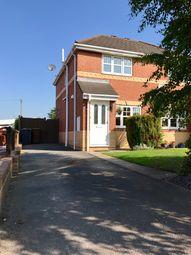 Thumbnail 2 bed semi-detached house for sale in Coleridge Close, Sandbach