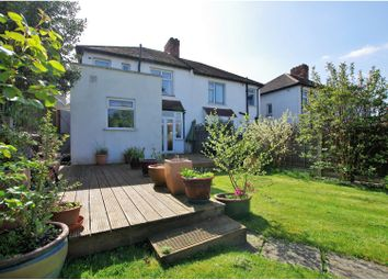 Thumbnail 3 bed semi-detached house for sale in Farmcote Road, London