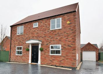Thumbnail 4 bed detached house for sale in Durham Close, Bracebridge Heath, Lincoln