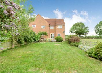 Thumbnail 4 bedroom semi-detached house for sale in Bullington End Road, Castlethorpe, Milton Keynes