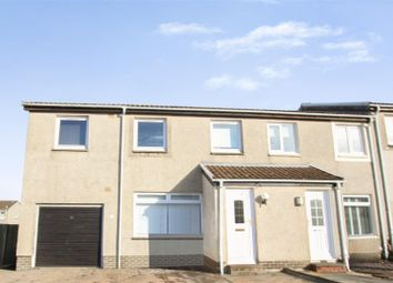 Thumbnail 4 bed end terrace house for sale in Finlay Avenue, East Calder, Livingston