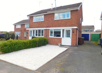 Thumbnail 2 bed semi-detached house for sale in Gladstone Way, Stafford