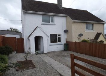 Thumbnail 2 bed semi-detached house for sale in Camborne, Cornwall
