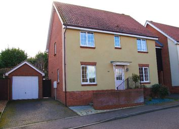 Thumbnail 4 bed link-detached house for sale in Stour Close, Harwich