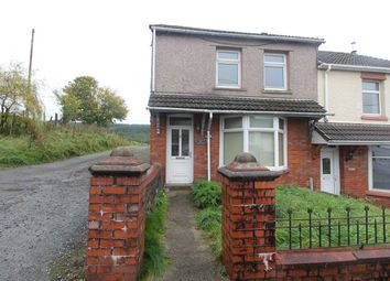 Thumbnail 3 bed end terrace house for sale in Fields Road, Tredegar