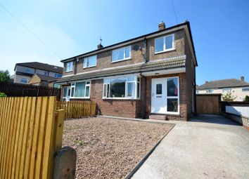 Thumbnail 3 bedroom semi-detached house for sale in Greyfriars Avenue, Bradley, Huddersfield
