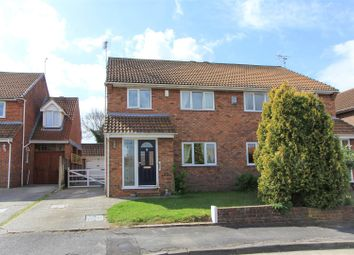 Thumbnail 3 bed semi-detached house for sale in Elm Wood Close, Swalecliffe, Whitstable