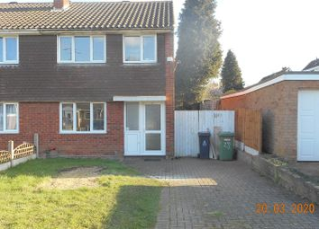 Thumbnail 3 bed property to rent in Birchover Road, Walsall