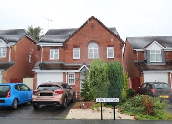 Thumbnail 4 bed detached house for sale in Amberlands, Stretton, Burton-On-Trent