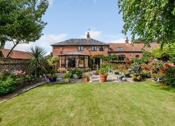 Thumbnail 4 bed barn conversion for sale in Hempnall Road, Woodton, Bungay