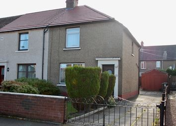 Thumbnail 2 bed end terrace house for sale in Wilson Street, Grangemouth