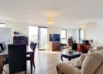 Thumbnail 3 bed flat for sale in Kingfisher Heights, Bramwell Way, London