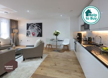 Thumbnail 1 bed flat for sale in Sutton Court Rd, Sutton