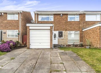 Thumbnail 3 bed semi-detached house for sale in Chatton Close, Chester Le Street