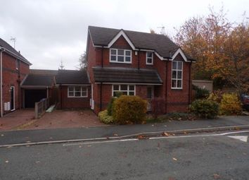 Thumbnail 3 bed detached house for sale in Shellbrook Drive, Ruabon, Wrexham, Wrecsam