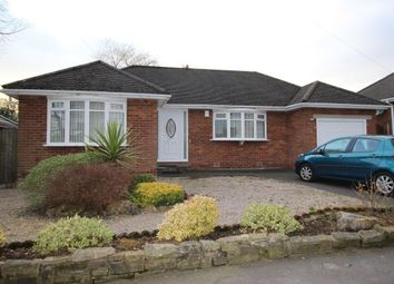 Thumbnail 2 bed bungalow to rent in Cromley Road, High Lane, Stockport