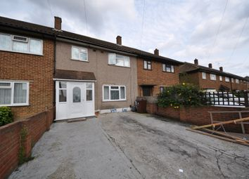Thumbnail 3 bed terraced house to rent in Padnall Road, Romford Essex
