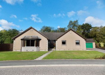 Thumbnail 4 bed detached bungalow for sale in David Mclean Drive, Alford