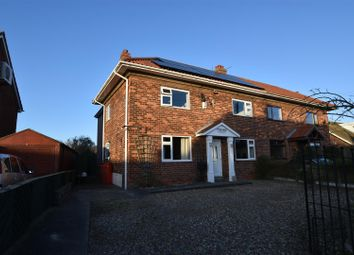 Thumbnail 4 bed semi-detached house for sale in The Villas, Great Hatfield, Hull