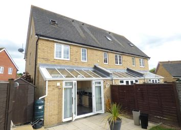 Thumbnail 3 bed town house to rent in Radvald Chase, Stanway, Colchester