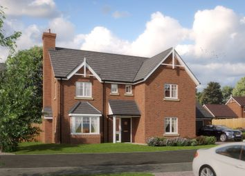 Thumbnail 4 bedroom detached house for sale in Barn End Road, Warton, Tamworth