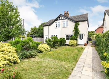 Thumbnail 2 bed semi-detached house for sale in Dukes Lane, Springfield, Chelmsford