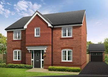 "Thumbnail 4 bed detached house for sale in ""Bunbury"" at Croxton Lane, Middlewich"